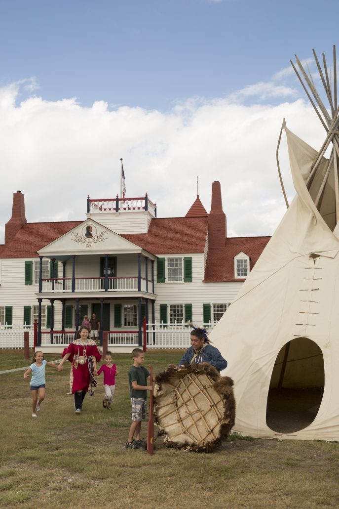 Fort Union Trading Post in North Dakota