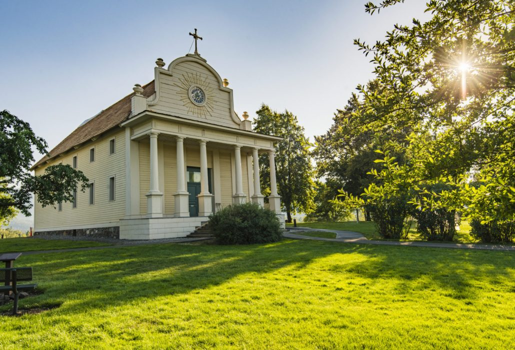 Cataldo Mission history in Idaho