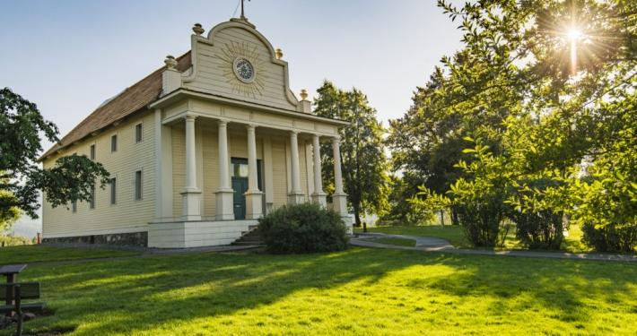 Cataldo Mission -living history in Idaho
