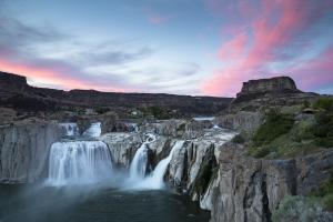 Visit Shoshone Falls, near Twin Falls in Idaho