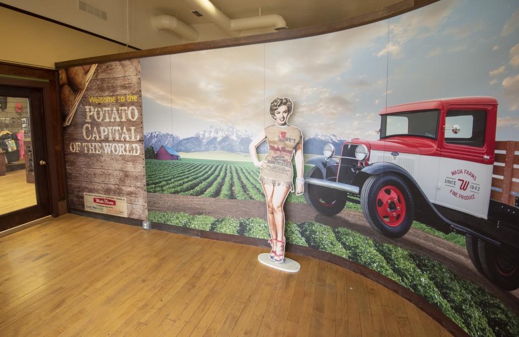 Marilyn Monroe makes a surprise exhibit at the Idaho Potato Museum