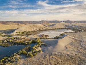 a fun detour on the girls roadtrip was to vsiit Bruneau Sand Dunes State Park. Idaho