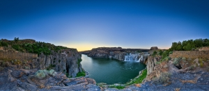 a must stop on the girls roadtrip itinerary in Idaho is the overlook for a view of Shoshone Falls, near Twin Falls.