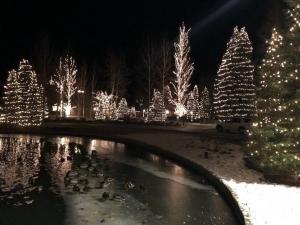 Sun Valley Resort at night