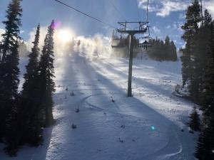 Skiing at Sun Valley
