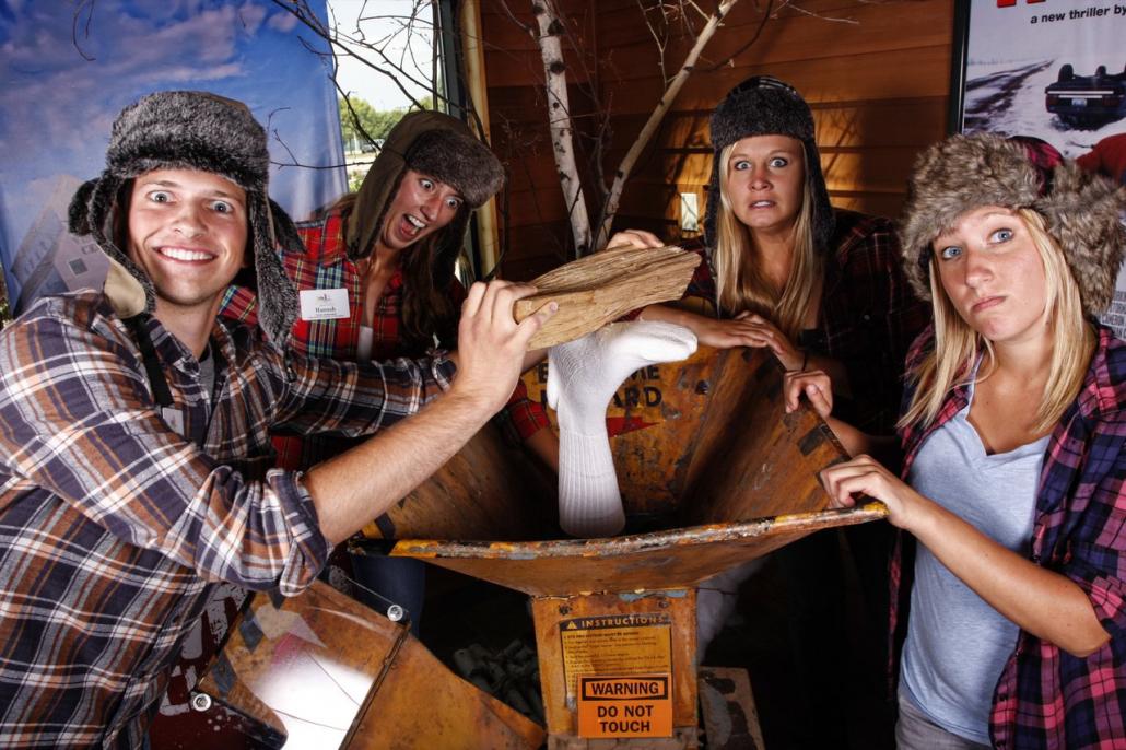 Fargo's famous woodchipper