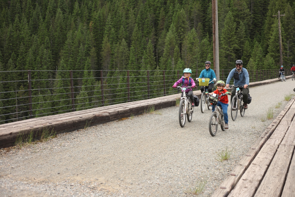 Family bikes of all types are available